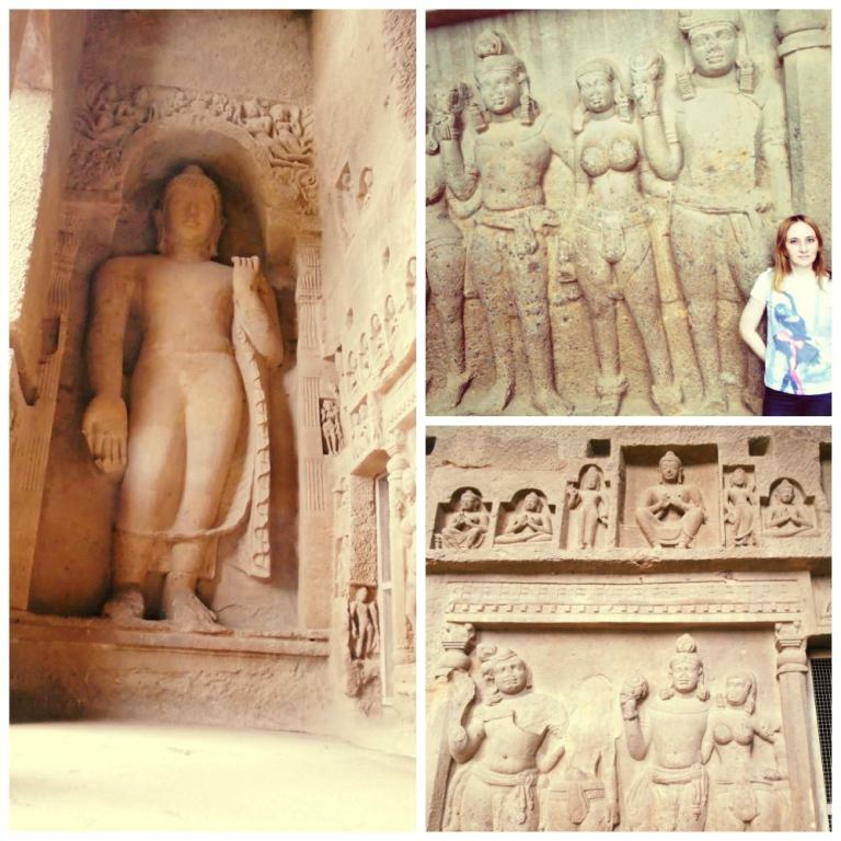 Sculptures of the Kanheri Caves