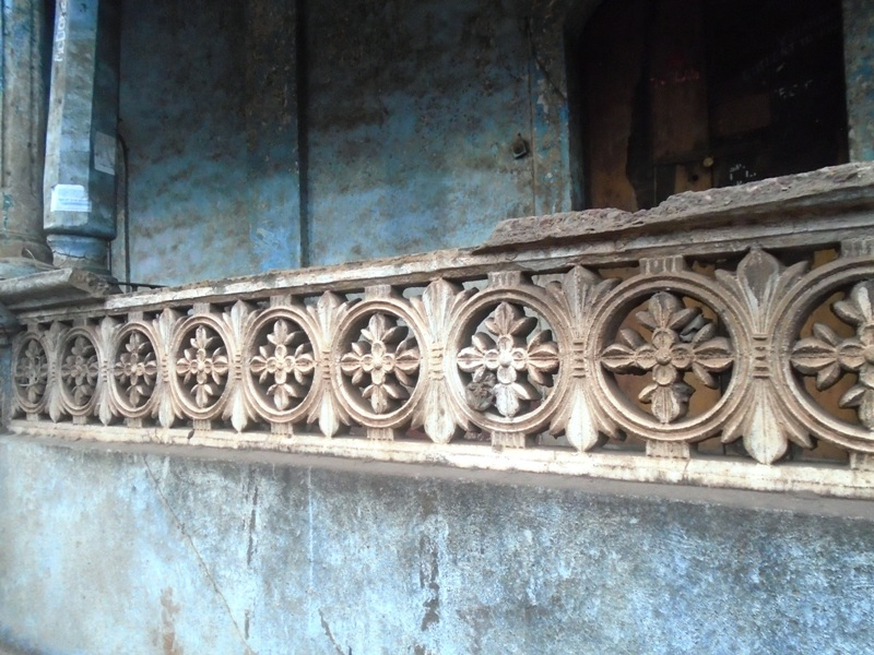 Neglected heritage building Margao