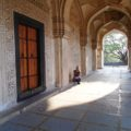 Qutb Shahi Tombs. The door.