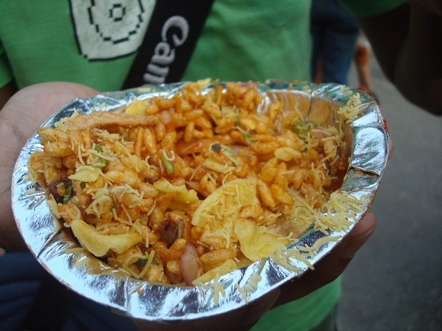Delicious street food Kolkata
