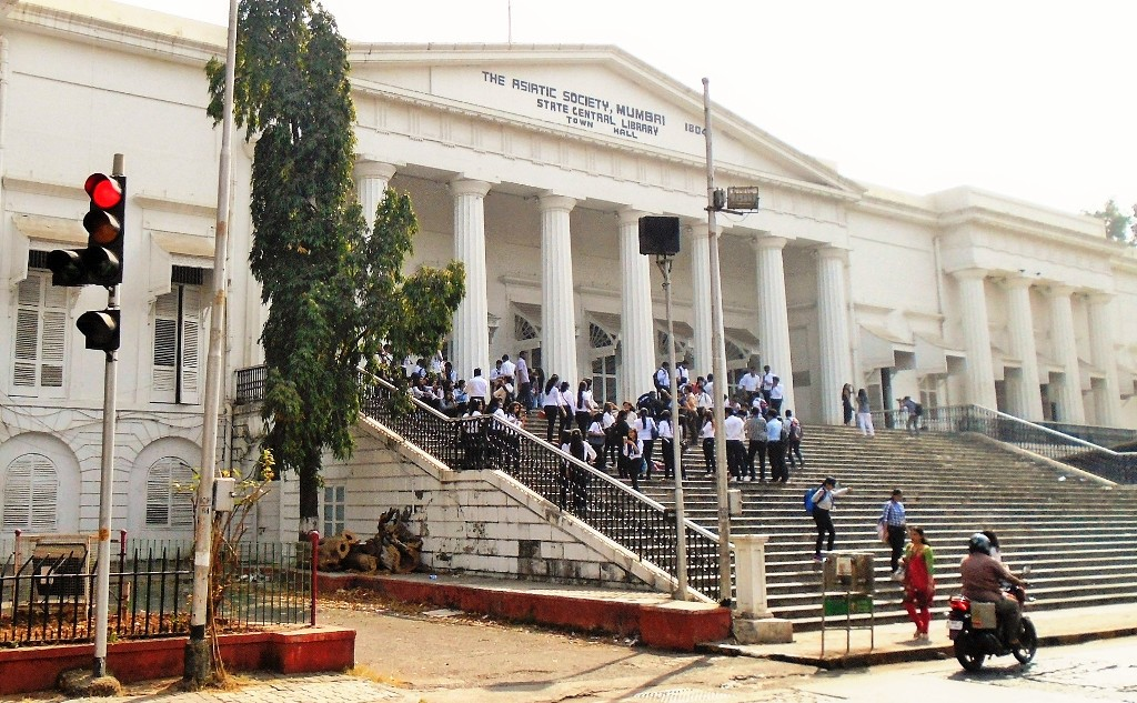 Asiatic Society State Central Library - literary landmarks in Mumbai